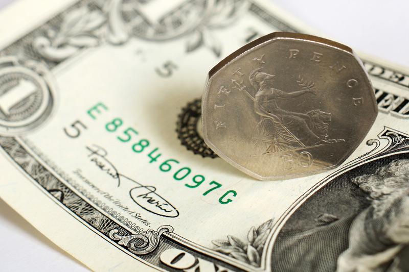 外国為替 - GBP/USD 米国セッションの終了時に 下落
