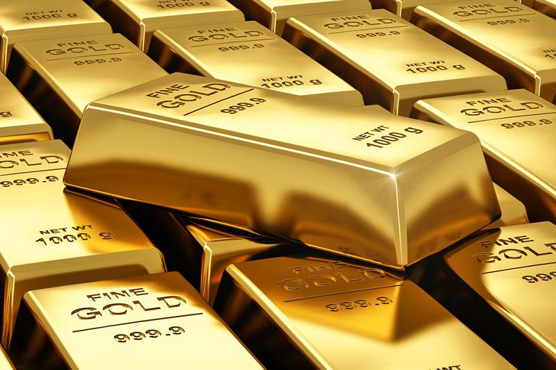 Altın, güçlenen dolarla 2 günün en düşük seviyesini vurdu