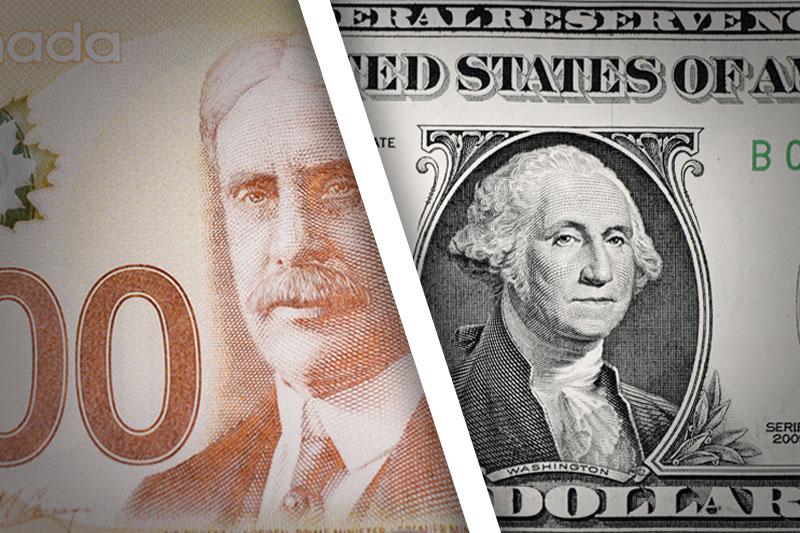 Forex - USD/CAD cai no início do pregão