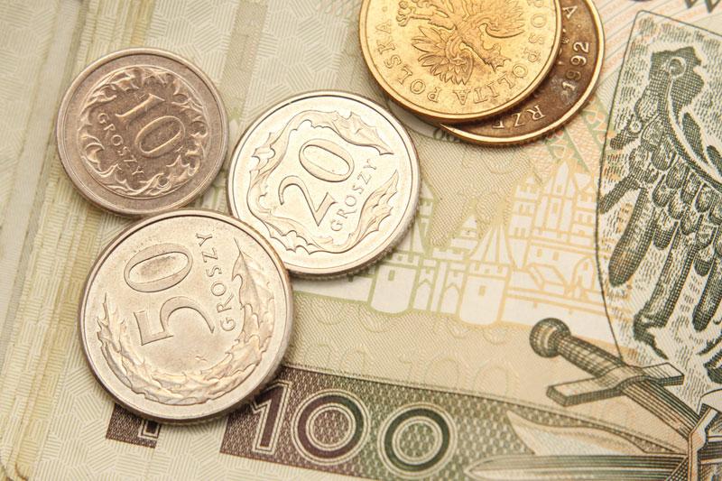 Kurs dolara (USD/PLN) najniższy od miesiąca