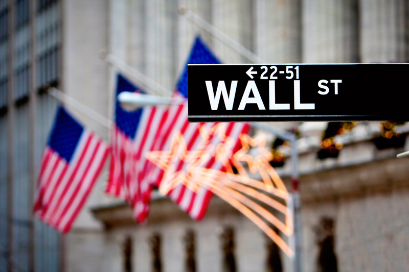 U.S. stocks lower at close of trade; Dow Jones Industrial Average down 0.58%