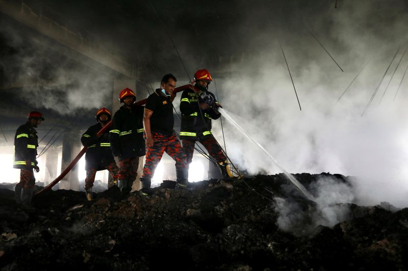 Bangladesh factory owner arrested over fire that killed 52 workers