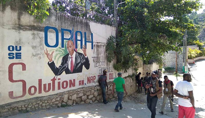 Gang boss wades into Haiti turmoil, sees conspiracy behind president's killing