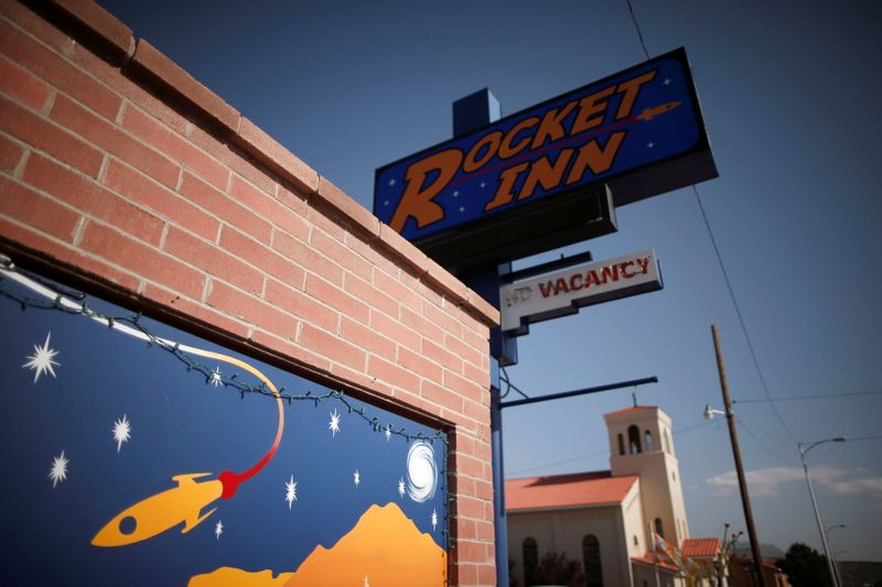 Drought-hit New Mexico town eyes economic liftoff from Virgin Galactic space launch