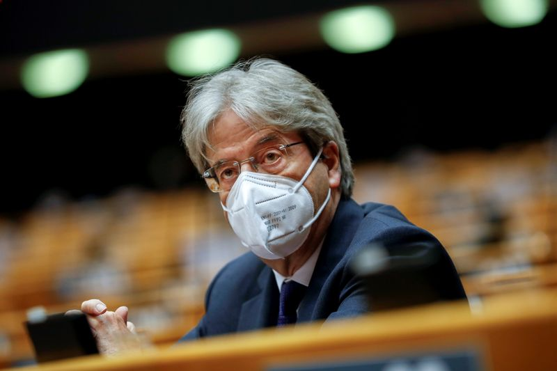 In overture to U.S., EU's Gentiloni says G20 deal is priority on corporate tax