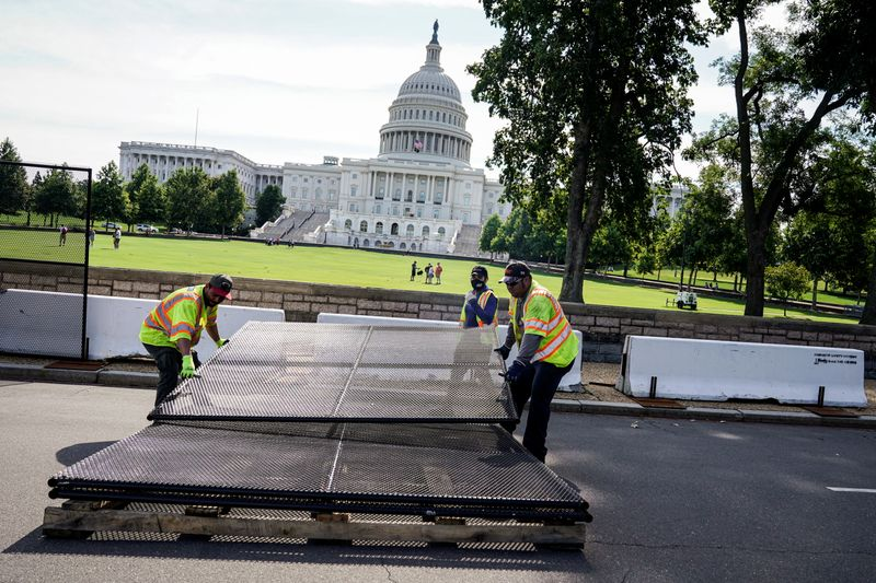 Fencing around U.S. Capitol removed six months after deadly Jan. 6 attack