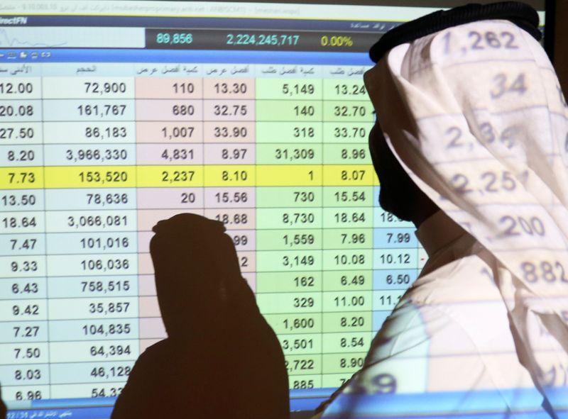 المؤشر السعودي يدفع معظم بورصات الخليج للانخفاض وأبوظبي تحقق مكاسب