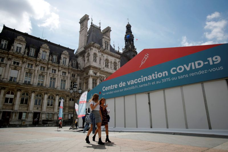 Rush for COVID vaccines as France may ask for proof of immunization