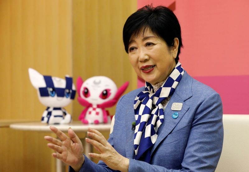 Tokyo governor vows city's medical system is ready for Games