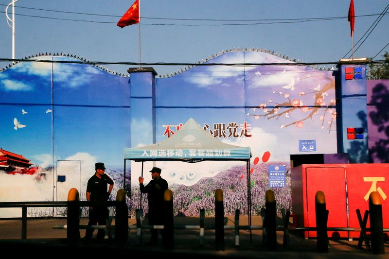 U.S. State Department warns business of risk linked to China's Xinjiang