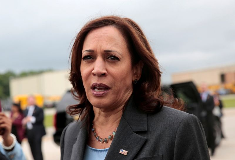 Harris likens Texas Democrats to suffragettes, civil rights leaders