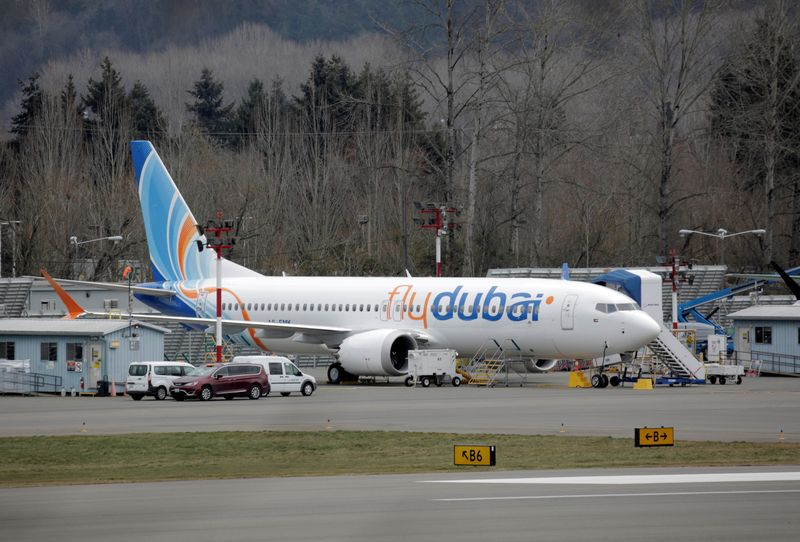 UAE's flydubai cuts Boeing MAX order by 65, citing post-COVID plans