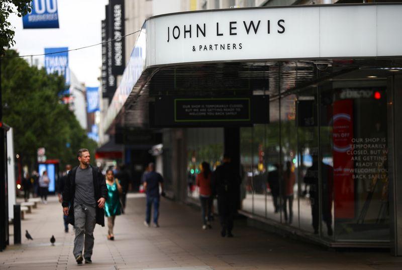 British retailer John Lewis Partnership to cut 1,000 management jobs