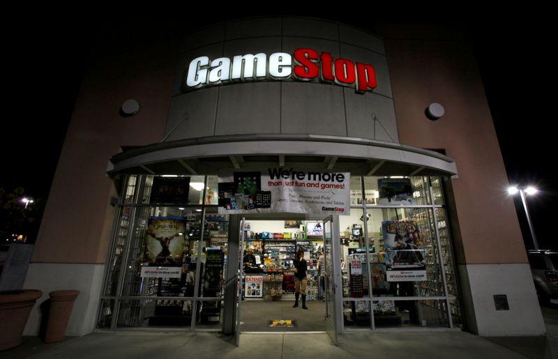 AMC shares attempt a comeback, GameStop falls