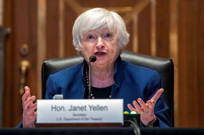 وزيرة الخزانة الأمريكية تقول إنها ليست متيقنة من أن أمازون ستخضع لاتفاق ضريبي عالمي