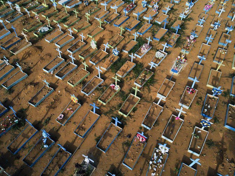 Brasil registra 1.548 novas mortes por Covid-19 e total atinge 538.942