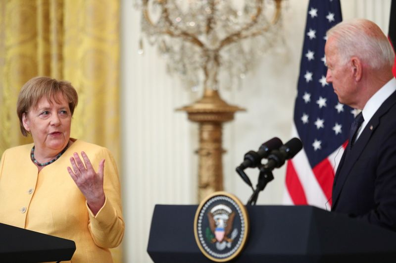 Biden, Merkel fail to resolve differences about Nord Stream 2 gas pipeline