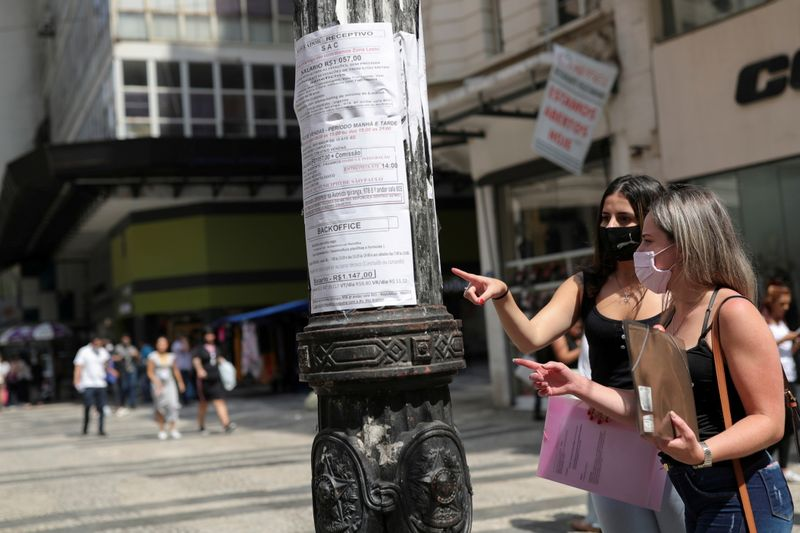Reuters poll: Brazil's economy in 'jobless recovery' after inflation surge
