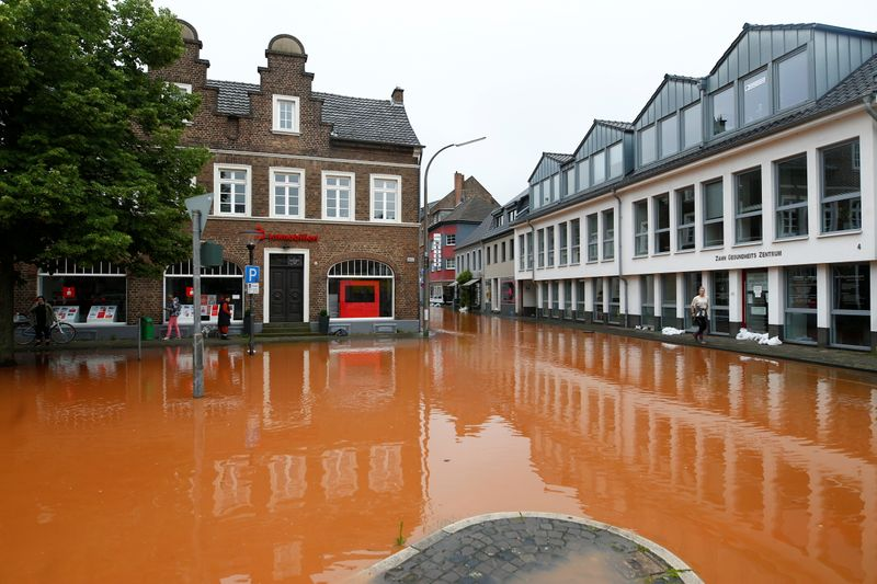 Floodwaters still rising in western Europe with death toll over 120
