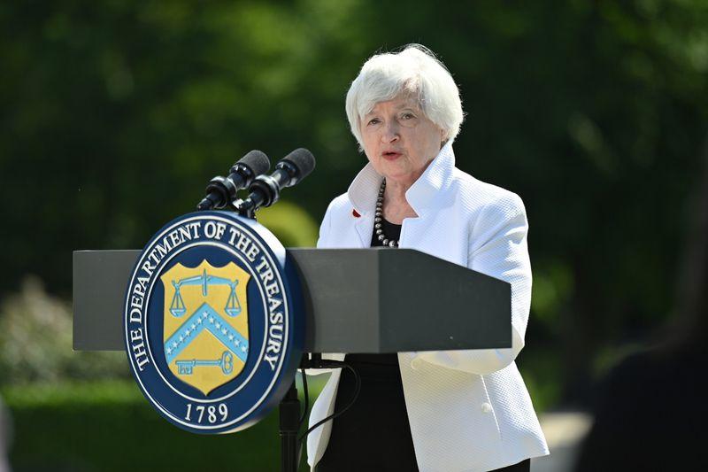 Yellen began Treasury job with flurry of calls and meetings, calendar shows