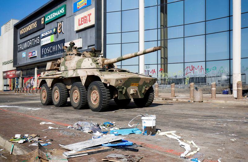 Afrique du Sud: Ramaphosa dénonce une vague de violences orchestrée