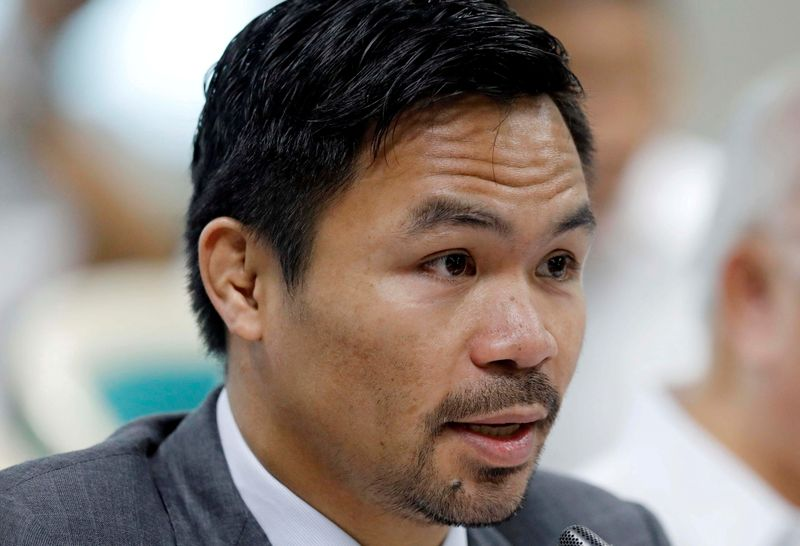 Philippines' Pacquiao ousted as president of ruling party after row
