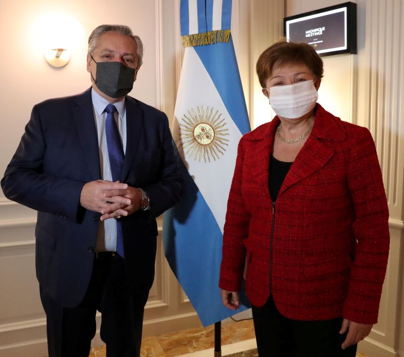 'Sooner the better': Argentina says talks with IMF on track