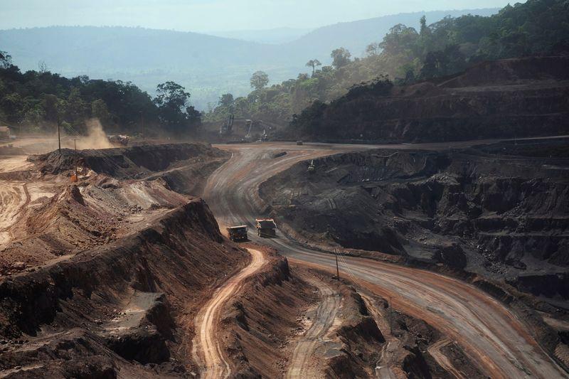 Produção de minério de ferro da Vale sobe 12% no 2º tri com demanda chinesa