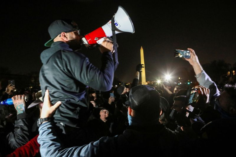 Proud Boys leader pleads guilty to weapons charge, destroying Black Lives Matter flag