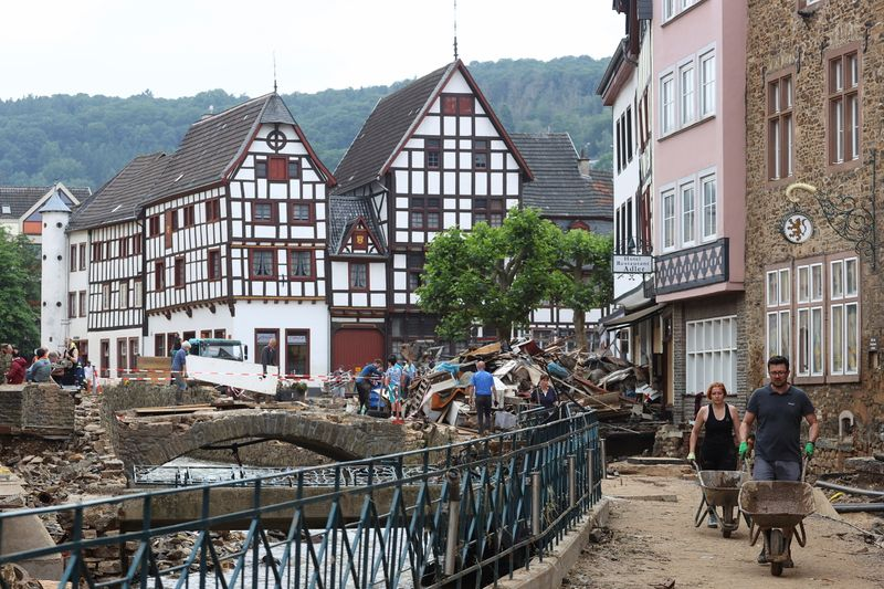 Floods lay bare Europe's