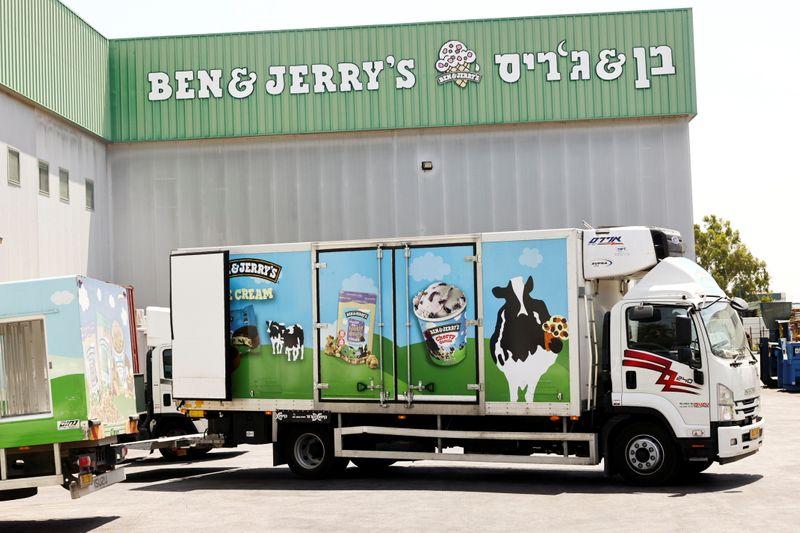 Israel PM warns Unilever boss over Ben & Jerry's boycott