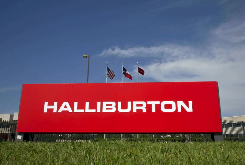 Halliburton tops earnings estimates, forecasts stronger demand