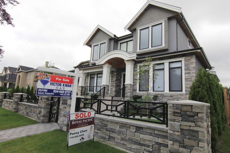 Canadian home prices climb in June at record annual pace -Teranet