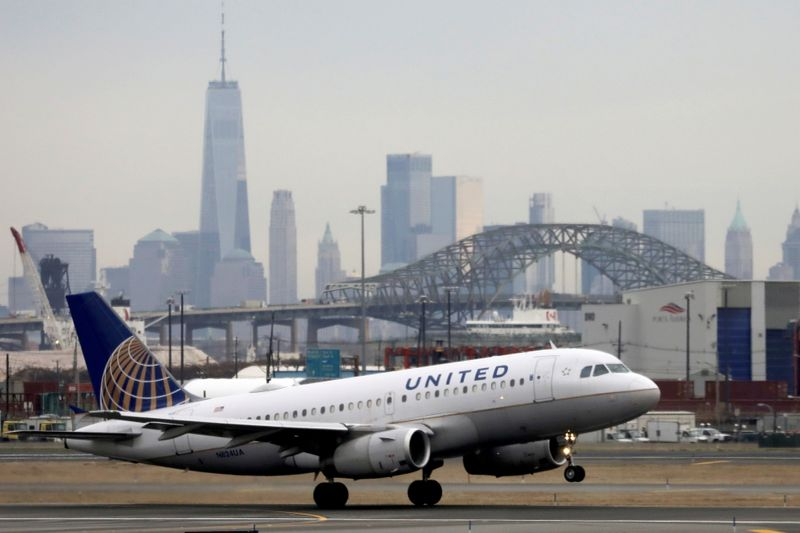 United Airlines revenue tops estimates as travel rebounds, sees 3rd-quarter turning point