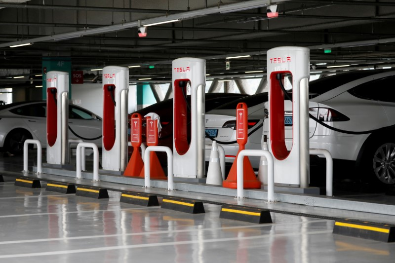 Tesla plans to open its charging network to other EVs later this year
