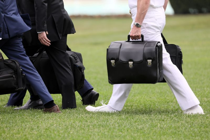 How safe is the U.S. president's 'nuclear football'? Pentagon watchdog to find out