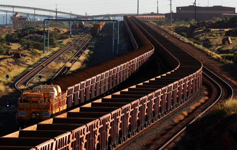 Australia's iron ore miners face train driver shortage amid COVID lockdowns