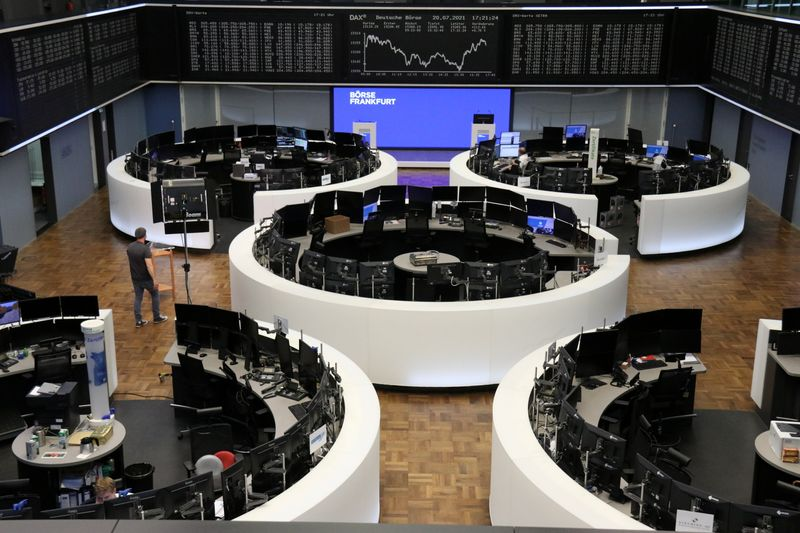 Blue-chip earnings, travel stocks boost European shares