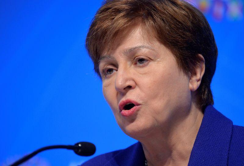 IMF to keep 2021 global growth forecast at 6%-Georgieva