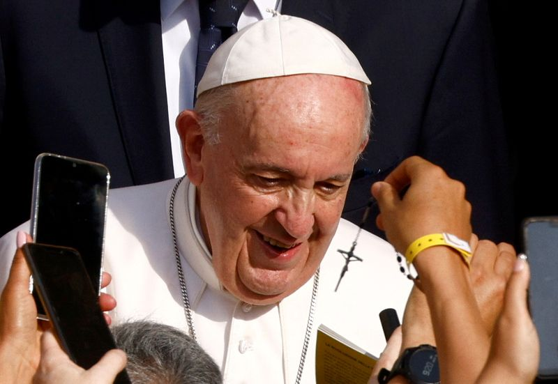 Pope's September trip schedule shows no post-surgery slowdown