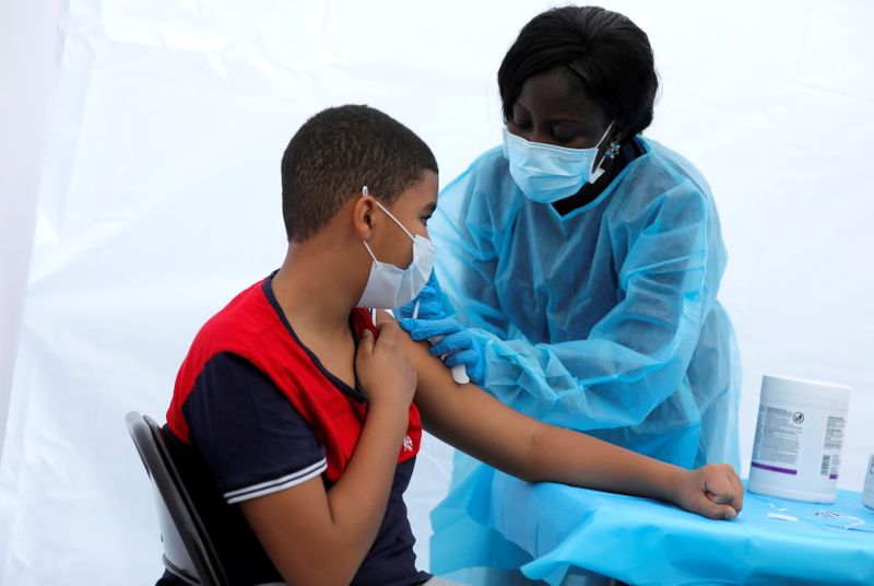 New York City requires health workers to be vaccinated or get tested weekly
