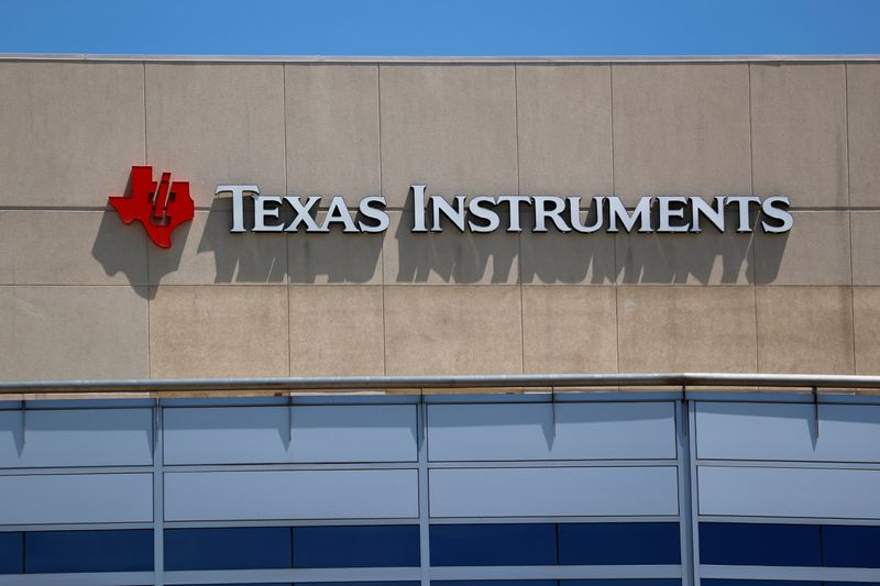 Texas Instruments soft revenue outlook fuels chip supply concerns