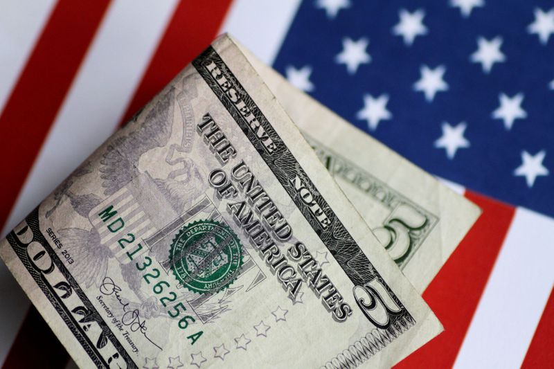 NY外為市場=ドル下落、リスク選好上向き ドルの強気見通しは継続