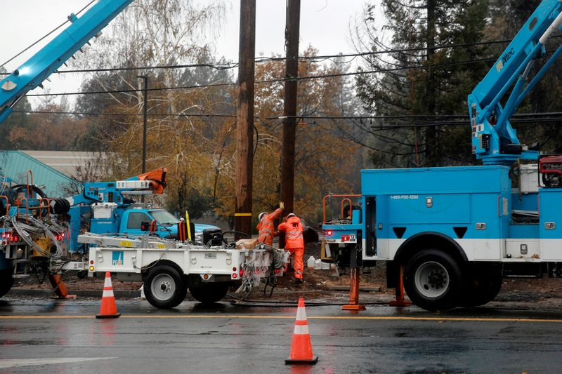 PG&E burying power lines to help prevent wildfires