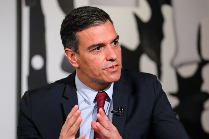 In U.S. charm offensive, Spanish PM highlights recovery to lure investment