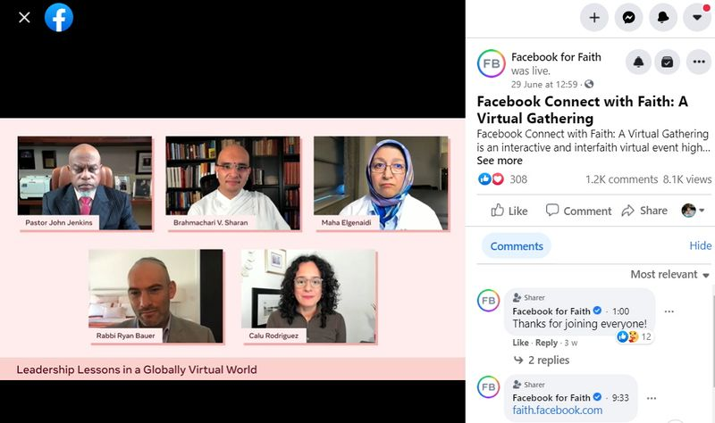 Facebook decided faith groups are good for business. Now, it wants your prayers