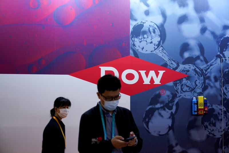 Dow profit doubles on higher prices