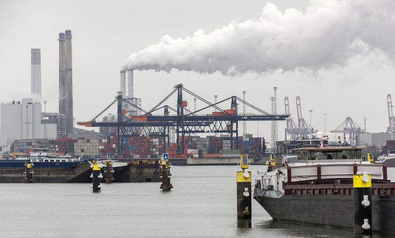 Port of Rotterdam freight volumes rise as trade recovers