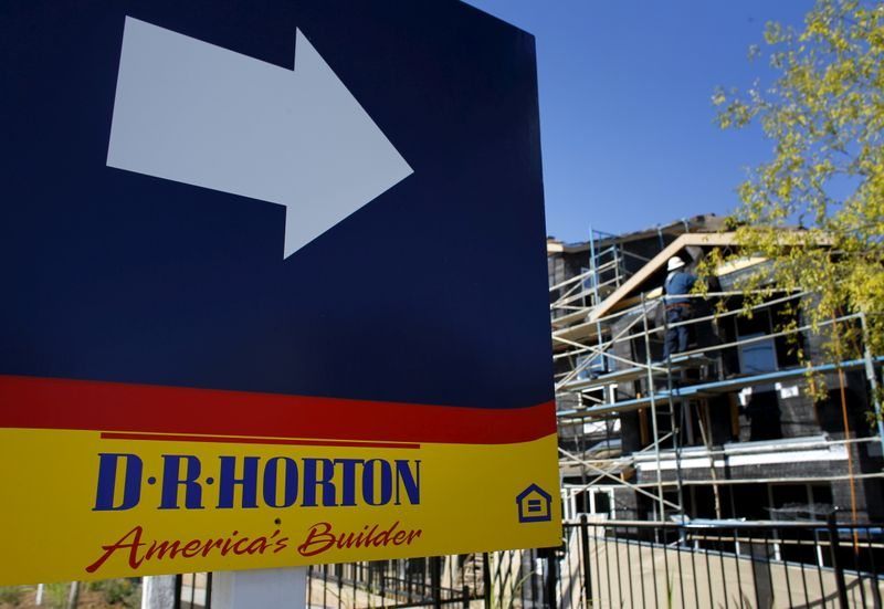 D.R. Horton profit jumps 77% on soaring house prices