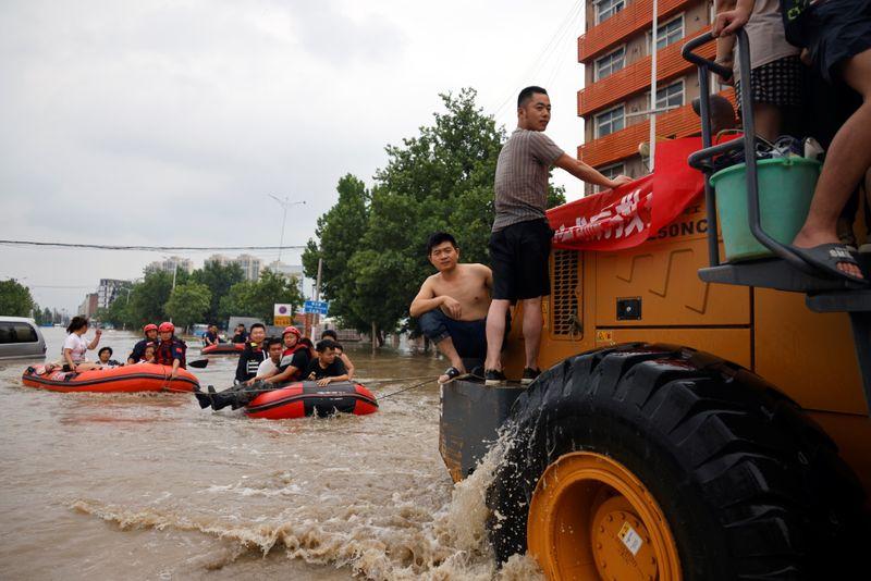 De Chine en Allemagne, des crues révélatrices de la vulnérabilité climatique